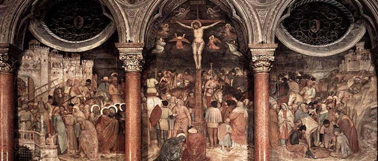 Altichiero, The Crucifixion, Padua