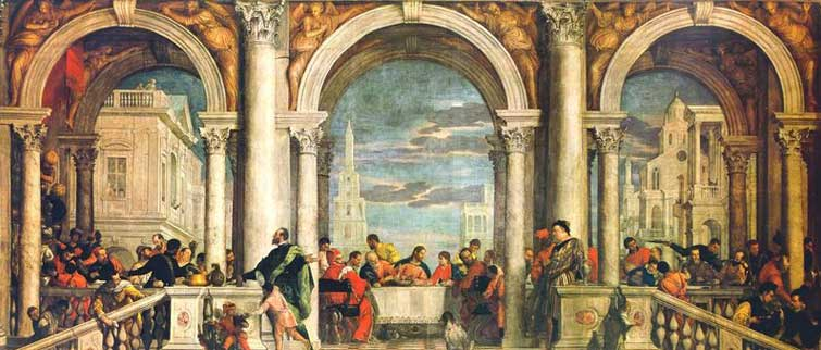 Mannerism (Late Renaissance) Veronese, Feast in the House of Levi, Venice