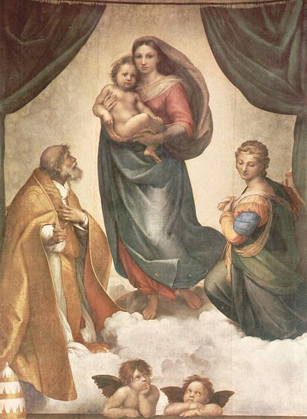 The Sistine Madonna. Raphael.
